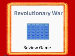 Revolutionary War  Interactive Game