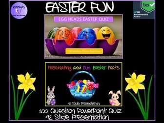 Easter Quiz and Fun Easter Facts Presentation