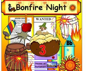 BONFIRE NIGHT EYFS KS1 Teaching resources