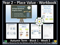 Place Value: Year 2 - Autumn Term - Workbook - White Rose Maths