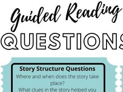 Guided Reading Questions for Parents