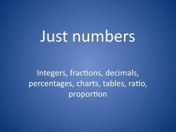 GCSE maths revision for Foundation Tier - numbers and arithmetic
