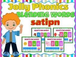 phonics blending activity game satipn animated ppt with sound