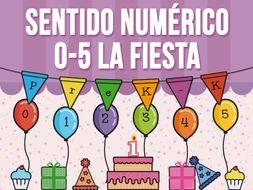 Sentido Numérico 0 - 5 - La Fiesta