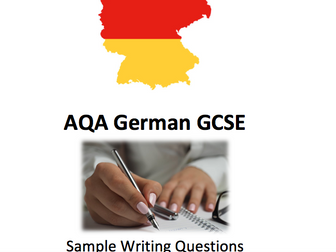 AQA German GCSE Writing Workbook and Model Answers