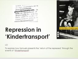 Repression in Kindertransport