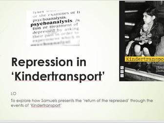 Repression in Kindertransport