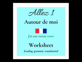avoir - French - couleurs (Allez 1 3.3)
