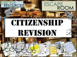 GCSE Citizenship Revision - Escape Room