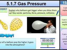 5.1.7 Gas Pressure KS3 AQA Activate