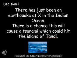 Tsunami Response DME