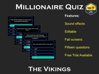 Millionaire Quiz! (Viking Edition)