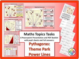 Pythagoras: Theme Park Power Lines Task