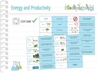 Energy and Productivity - Loop Game (KS5)