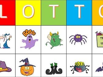 Halloween Lotto Game