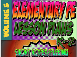 K-2 Physical Education Lesson Plan Volume 5