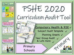 PSHE Audit tool - Primary Curriculum PSHE 2020