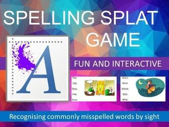 Spelling Splat Game - Literacy