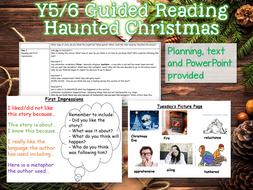 UKS2 Guided Reading - Haunted Christmas