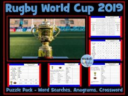 Rugby World Cup 2019 Puzzle Pack