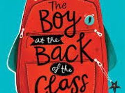 The Boy at the Back of the Class Reading Comprehension (Chapters 18, 19 and 20)
