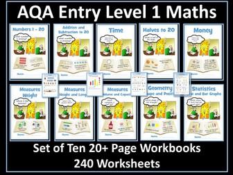 AQA Entry Level Maths