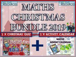 Maths Christmas 2019 Bundle