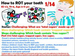 1/14 toothrotdoc 2 minute educational tooth brushing ppt