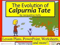 The Evolution of Calpurnia Tate Unit w/ 12 lesson plans, PPT, and MORE!