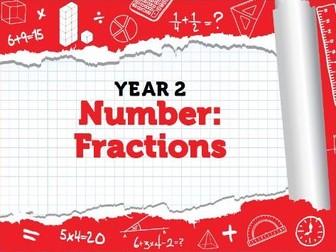Year 2 - Fractions - Spring - Week 10