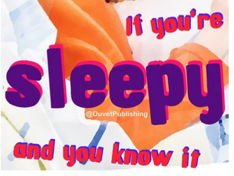 If you're sleepy and you know it - bedtime book