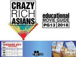 Crazy Rich Asians Movie Guide | Questions | Worksheet (PG13 - 2018)