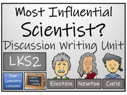 LKS2 Science - Most Influential Scientist Discussion Writing Activity