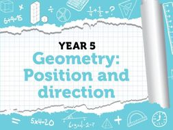 Year 5 - Geometry - Position and direction - Week 8 - Summer - Block 3 - White Rose