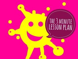 Lesson Planning. The Ofsted Ready 3 Minute Lesson Plan FREE!