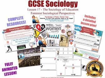Feminist Perspectives - Sociology of Education L17/20 [ AQA GCSE Sociology - 8192] NEW