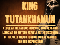 Ancient Egypt - Tutankhamun