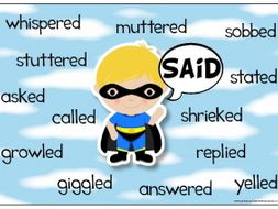 Superhero Synonyms Display Pack