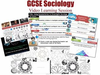 Video Learning Session - FAMILY - L20/20 [ [WJEC EDUQAS GCSE Sociology]