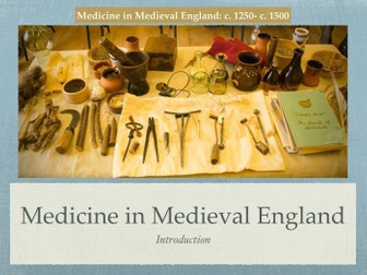 an introduction to the medieval medicine Medieval medicine: a reader (readings in medieval civilizations and cultures)  + medieval and early renaissance medicine: an introduction to knowledge.