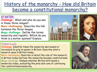 History of Monarchy