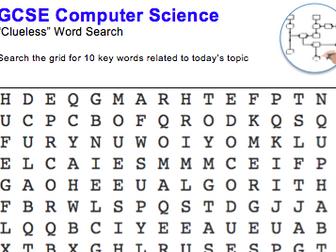 GCSE Computer Science: Word puzzle (algorithms)