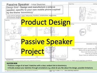 Passive Speaker Project