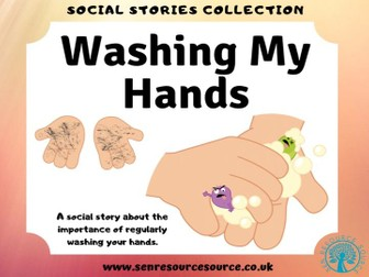 Washing My Hands Social Story