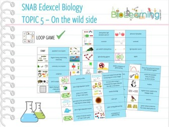 SNAB Biology Topic 5: On the Wild Side - Loop Game
