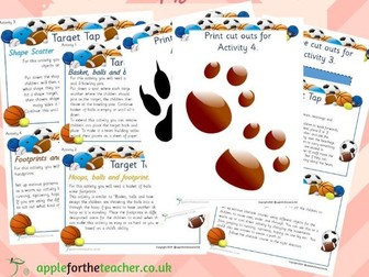 PE activity sheets for children with Special Educational Needs