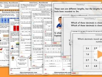 Year 4 Round Decimals Summer Block 1 Lesson Pack