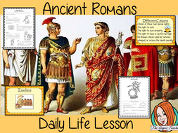 Ancient Roman Daily Life Complete History Lesson