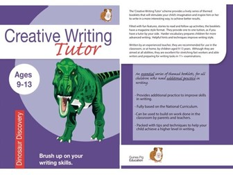 Dinosaur Discovery: Brush Up On Your Writing Skills (Creative Writing Tutor) (ages 9-13 years)