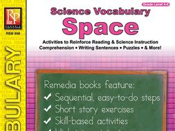 Space: Science Vocabulary